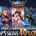 akun ml full skin hero gratis 2018
