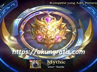 akun ml mythic gratis 2018