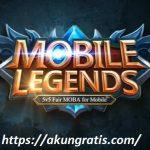 Akun Mobile Legends Gratis 2018